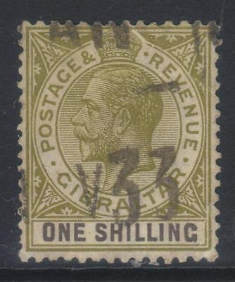 GIBRALTAR 1925-1932 MSCA SG102a USED CAT £22