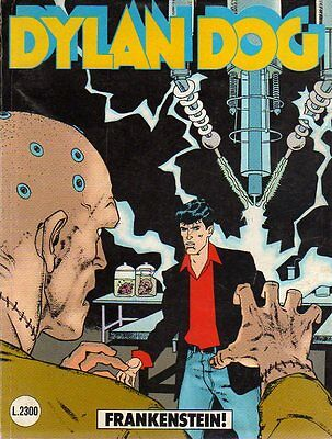 Dylan Dog 60 Frankenstein Original del 9-1991