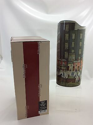 Boxed LS Lowry Coming from the Mill Beswick vase Silhouette D'Art
