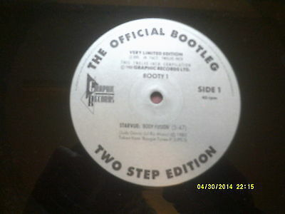 """The Official Bootleg Two Step Edition 12"""" Starvue,milton Wright,instant Funk"""