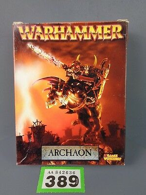 Warhammer Age Sigmar Warriors of Chaos Metal Archaon Lord of the End Times 389