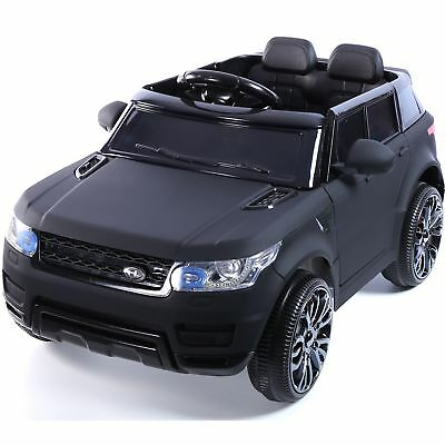 Mini HSE Range Rover Style Electric 12v Child's Ride on Jeep - Matt Black