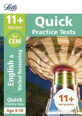 11+ English and Verbal Reasoning Quick Practice Tests Age 9-10 ... 9781844198917