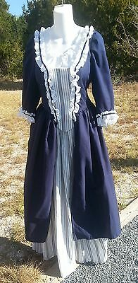 18th Century Historical Reproduction Gown with stomacher size 42 bust