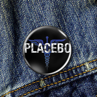 Placebo Indie Goth Pin Button Badge 1 x 25mm Badge