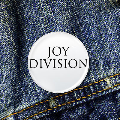 Joy Division Pin Button Badge 1 x 25mm Badge
