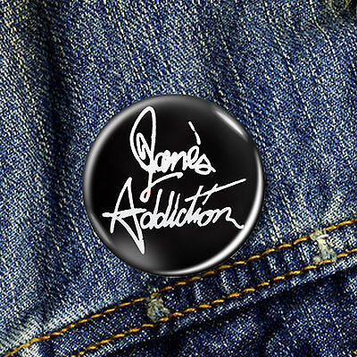 Janes Addiction Jane's Pin Button Badge 1 x 25mm Badge