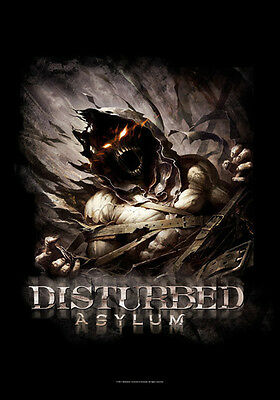"Disturbed Flagge / Fahne ""asylum"" Posterflagge Poster Flag"
