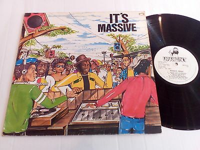 Massive Dread - It's Massive - UK 1983 Upfront vinyl LP