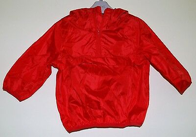 New & Tagged NEXT Infants Rain Jacket Cagoule Red Size 12-18 Months Height 86cm