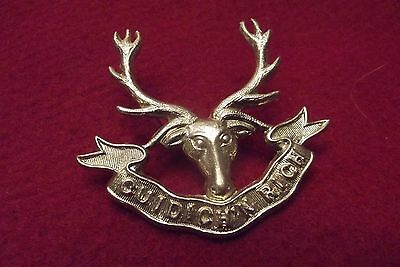 WW II Canadian Cap Badge To The Seaforth Highlanders Of Canada