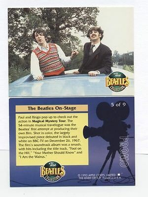 The Beatles Collection 1993 PROMO CARD -5 0f 9 The River Group