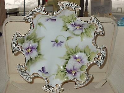 hand painted porcelain  dish/tray NIPPON