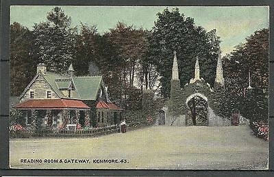Postcard : Kenmore Perthshire The Reading Room and Gateway, pu 1907