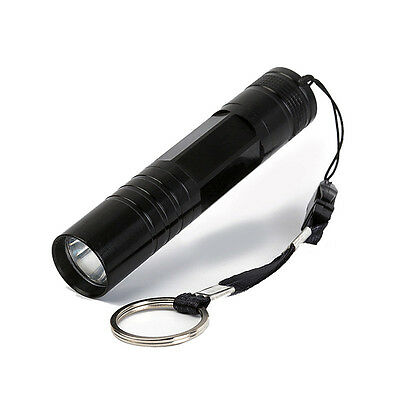Mini Portable Supper Bright Military Flashlight Waterproof Pocket LED Torch UK