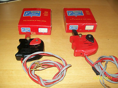 2 Good Working Boxed Minic Motorway Hand Controllers With Terminals