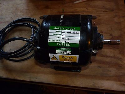 Myford Ml8 And Others Lathe Motor - Aei 1/2 Hp