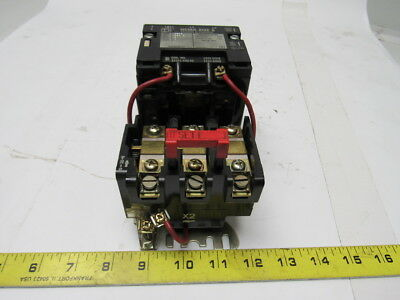 Square D Class 8536 Type S80-2 Size 0 Contactor W/Overloads 120V Coil