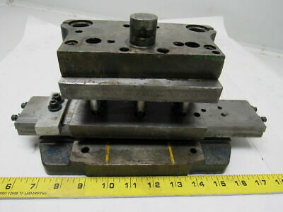 "PRODUCTO A711 2  Pin Steel Die Set/ Shoe 6"" x 5-1/2"" Base & 6""x4"" Top"
