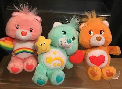 Care Bears 3 Small Soft Toys By McDonald's
