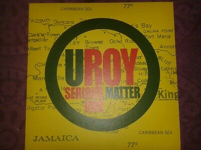 U Roy - Serious Matter Dub Lp - Dub Reggae - Scientist
