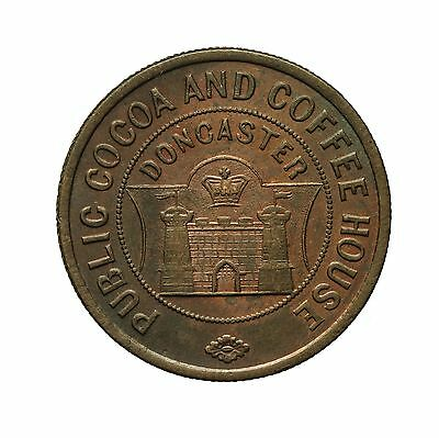 Yorkshire Doncaster Public Cocoa And Coffee House 1 Penny Token