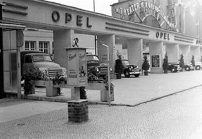 1950 Opel Display at Auto Show Factory Photo ca6372