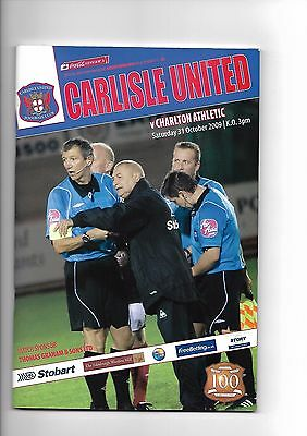 Carlisle United  v  Charlton Athletic, 31st October 2009