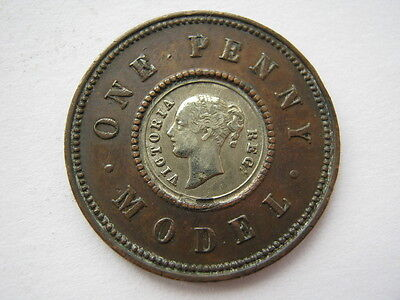 Victorian model Penny by Moore white metal centre