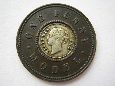 Victorian model Penny by Moore white metal centre #1