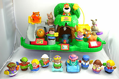 Fisher Price Little People Zoo Lot & Peoples + Animals & Accessories  Lot Of Fun