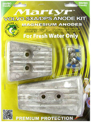 Volvo Penta SXA/DPS Anode Kit, Fresh Water - CMSXAKITM