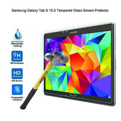Premium LCD Tempered Glass Screen Protector for Samsung Galaxy Tab S 10.5 T800