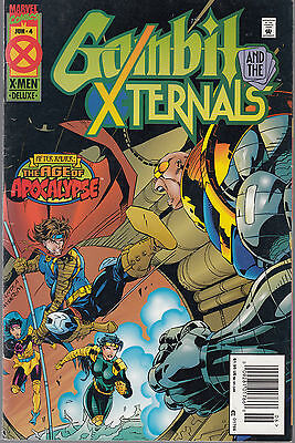 Gambit And The X-Ternals #4 1995 Marvel Nicieza//larroch Vg