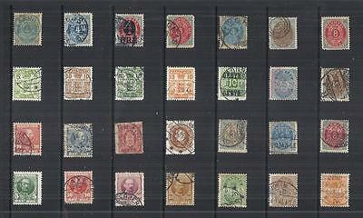 y821 Denmark / A Small Collection Early & Modern Used