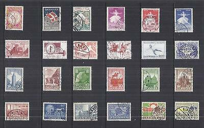 y825 Denmark / A Small Collection  Early & Modern Used