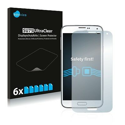 6x Savvies Screen Protector for Samsung Galaxy S5 Neo Ultra Clear