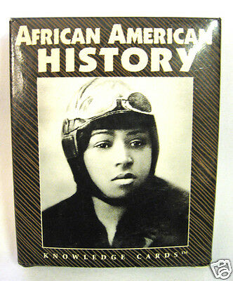 Deck of Knowledge Cards AFRICAN AMERICAN HISTORY Glossy Photos of Notable People