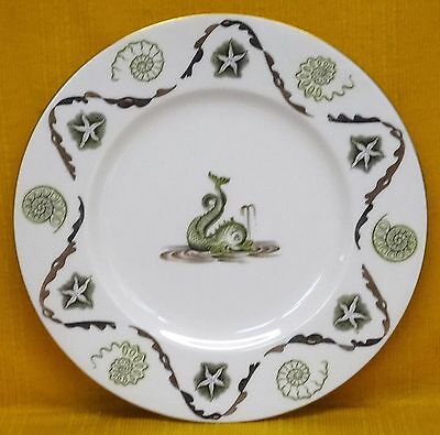 """Fine, Scarce, Large WEDGWOOD Laurence WHISTLER """"Dolphin"""" PLATE c1955"""
