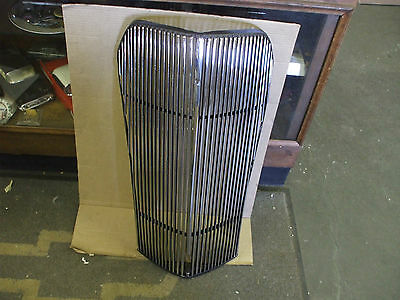 1937 Chevy car grille NEWLY RESTORED and TRIPLE PLATED L@@@@@K