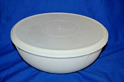 Tupperware Large Sheer Fix n Mix Bowl #274 with a #224 Lid 26 Cups