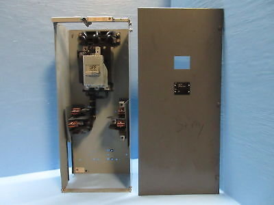 """Westinghouse Type W 200 Amp Fusible Feeder Motor Control Center Bucket 30"""" 200A"""