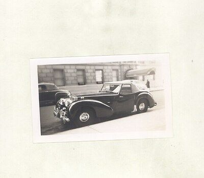 1950 Triumph 2000 Roadster ORIGINAL Photograph ww5713