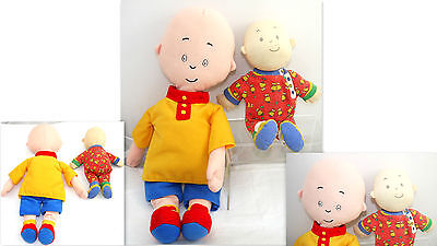 2 Caillou Toy Doll Plush Collectible Tv Caillou Cinar Character