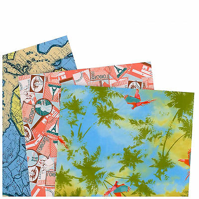 Decopatch Decoupage Printed Paper Collection - Voyage