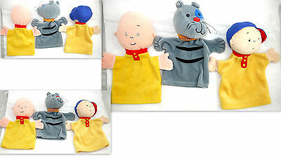 Caillou & Gilbert Toy Hand Puppet Plush Collectible Tv Caillou Cinar Character