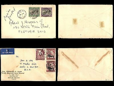 British Commonwealth Postal History Stamp collection of 40 Covers