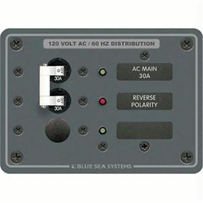 Blue Sea 8029 AC Main +1 Position Breaker Panel (White Switches)
