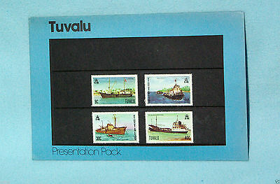 Tuvalu - 1978 - Ships - Spec Post Stmp Iss Off Pres Pack