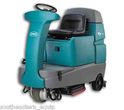 """Reconditioned Tennant T7 32"""" Rider Floor Scrubber"""